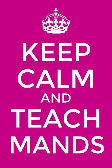 Keep Calm and Teach Mands