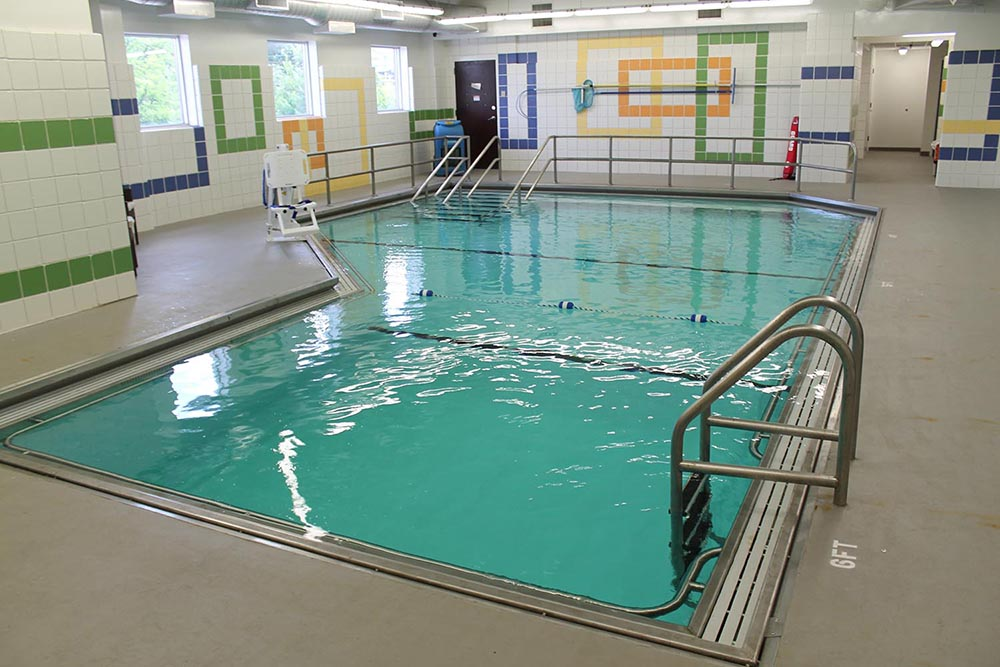 Carmel Center Indoor Therapeutic Pool for Special Needs Swim Lessons