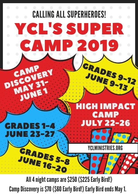 YCL Super Camp 2019