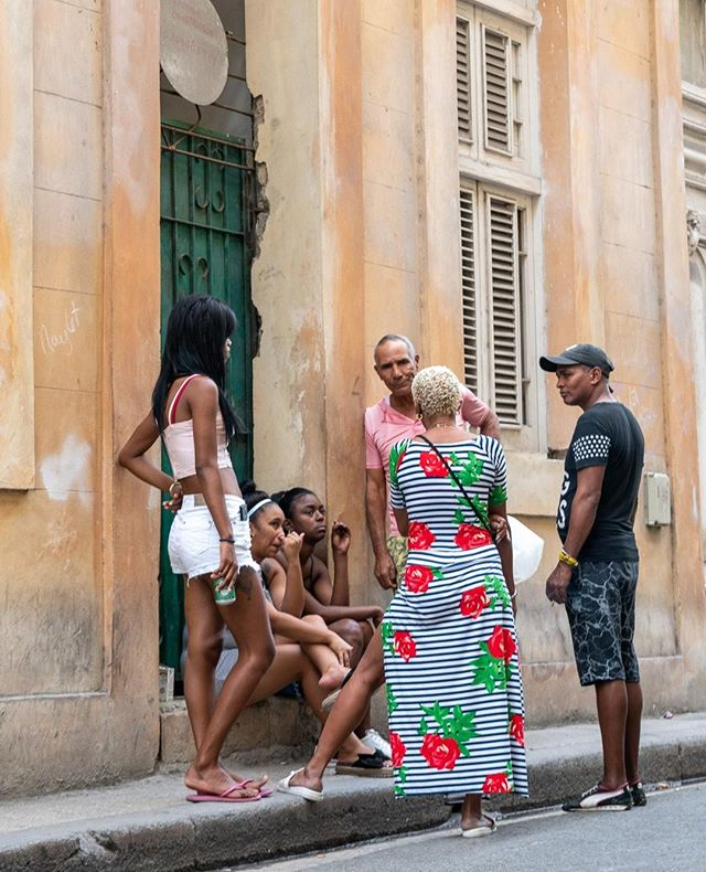Life in Old Havana is lived on the streets. In the morning and late afternoon, the streets are filled with people hanging out, catching up on neighborhood news and/or talking baseball (Pelota). www.cubaphototravel.com Engage l Explore l Capture Follow: @cubaphototravel / Tag: #cubaphototravel . . . . . . . #Cuba #loves_cuba #havana #photographyislife #getlost #keepexploring #theglobewanderer #exploretheworld #neverstopexploring #travelstagram #letsgosomewhere #roamtheplanet #welltravelled #justbackfrom #chasinglight #openmyworld #bestvacations #travelstoke #travelphotographer #traveldeeper #welltravelled #stayandwander #passionpassport