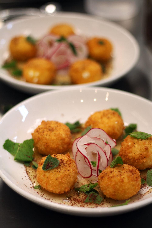 fried goat cheese balls hathorne