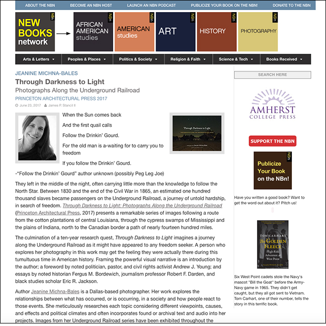 NEW BOOKS NETWORK   by James P. Stencil II June 23, 2017