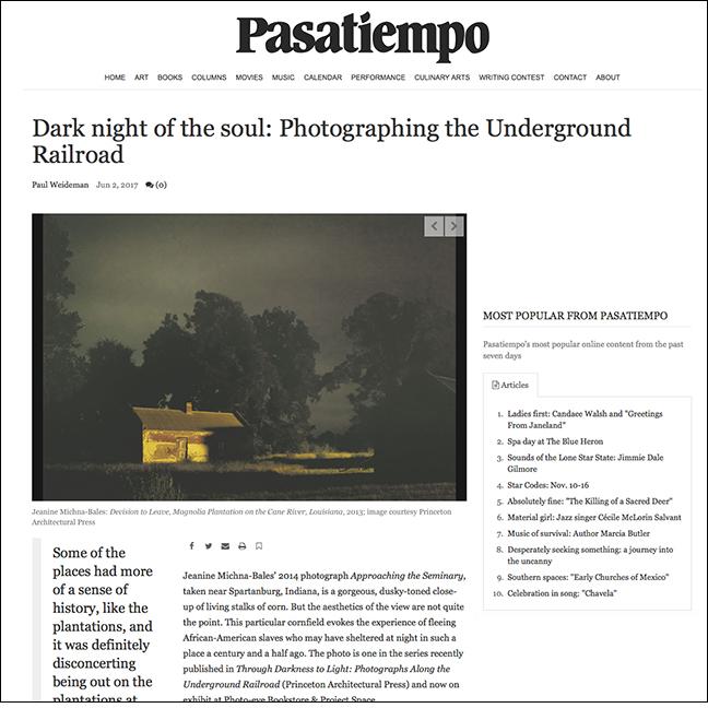 PASATIEMPO   by Paul Weideman June 2, 2017