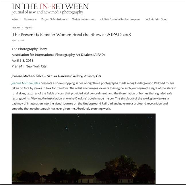 IN THE IN-BETWEEN   By Gregory Eddi Jones April 13, 2018