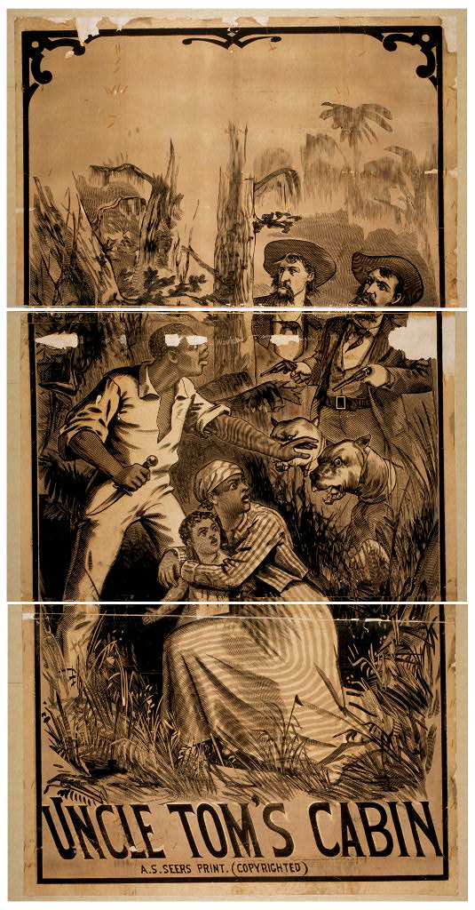 A.S. Seer Print. Uncle Tom's cabin. , 1882. [N.Y.: A.S. Seer's Print]. Library of Congress Prints and Photographs Division, Washington D.C.