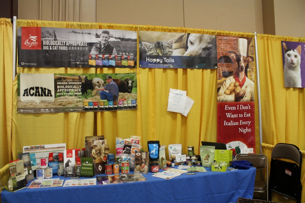 A snap of our booth and favorite products!