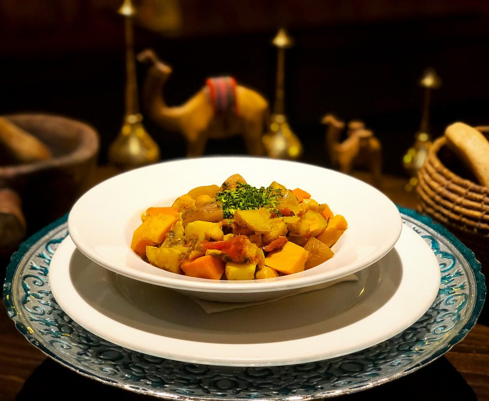Moroccan Vegetable Tagin
