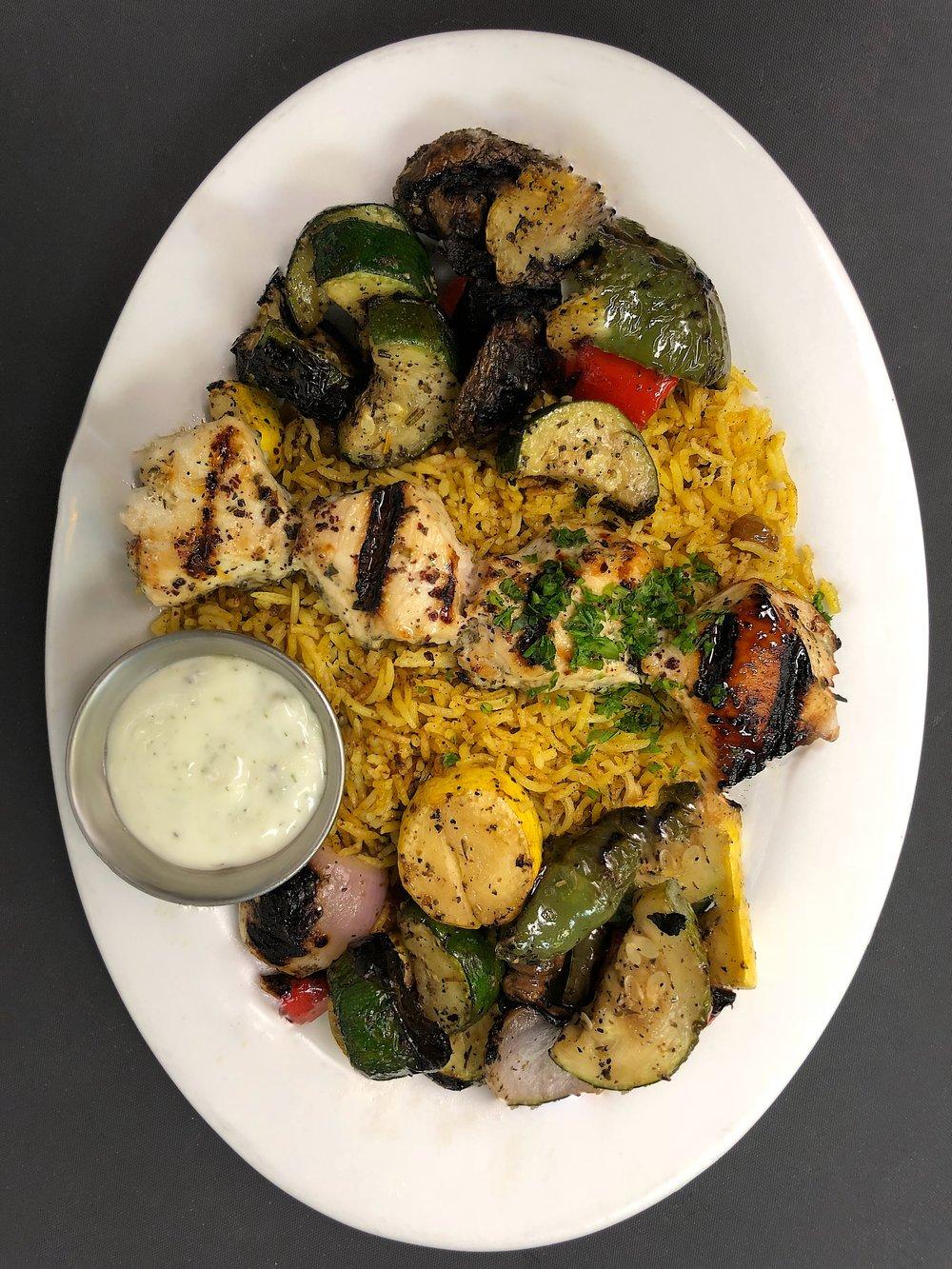 Chicken Kebab (lunch)