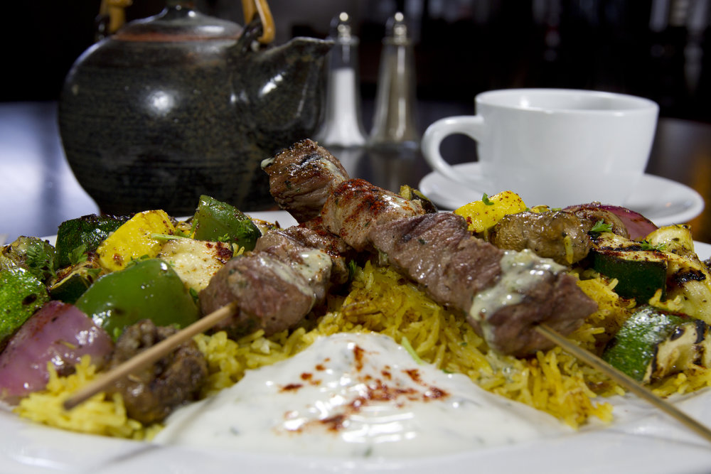 Lamb Kebab Platter