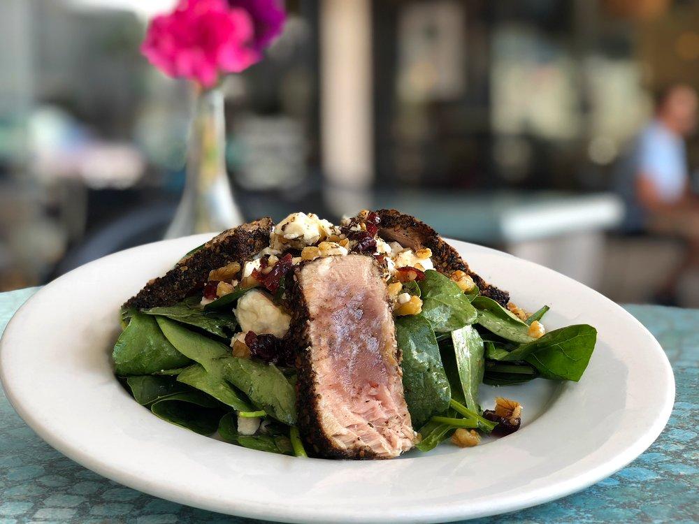 Herb-Crusted Tuna