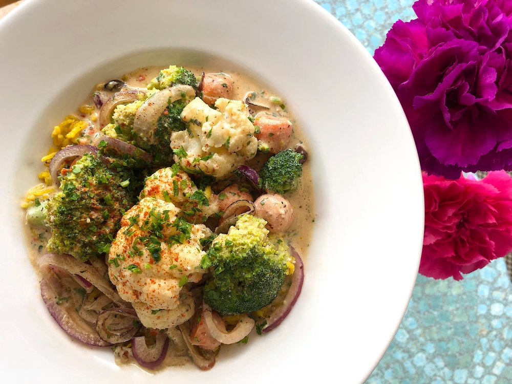 Vegetable Tahini Stew