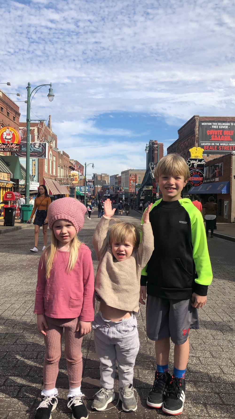 My favorite Memphis tourists on the ONE day that got to dress themselves…