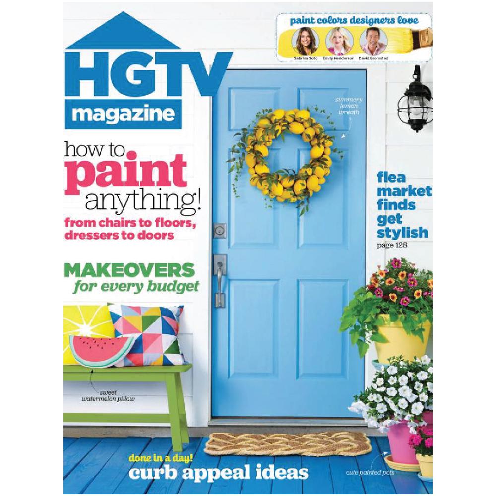 HGTV Magazine June 2016