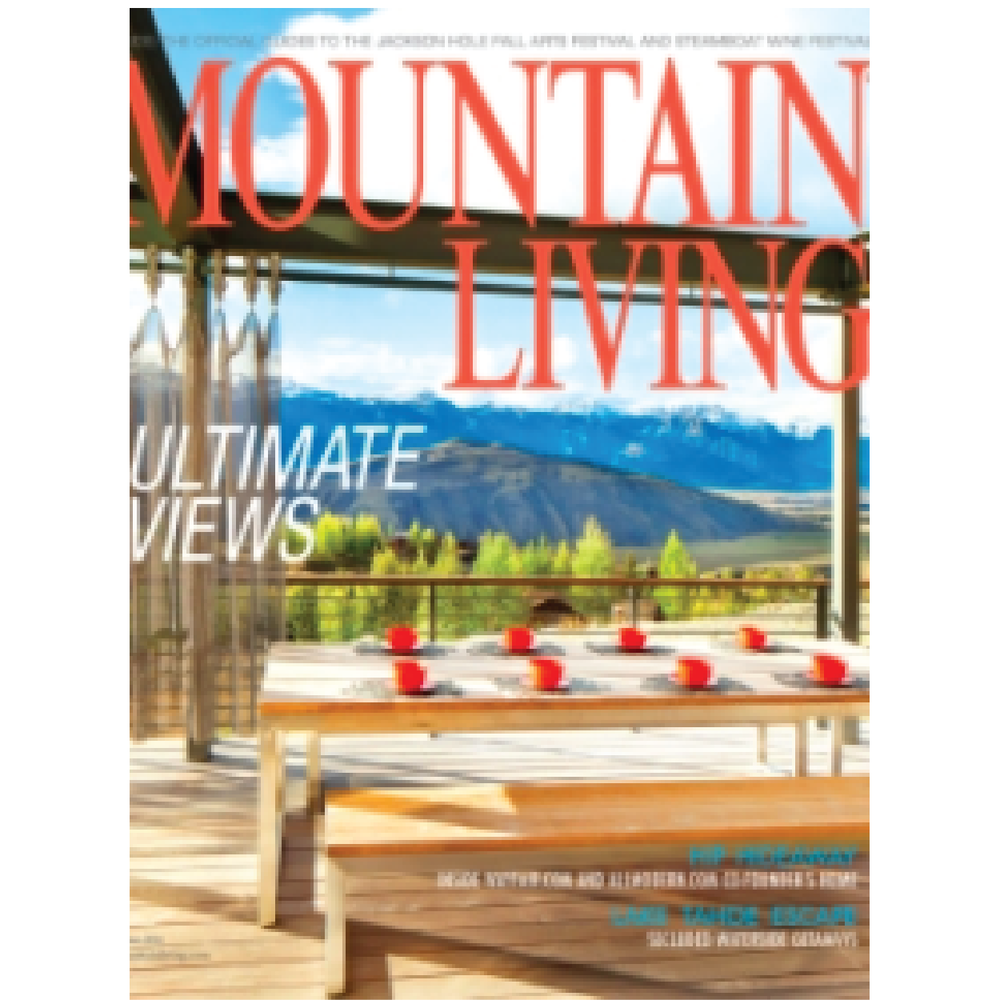 Mountain Living August 2015