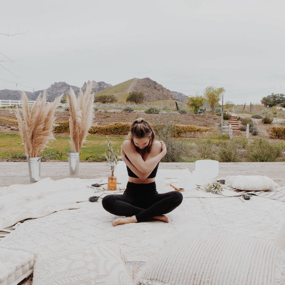 Private Sound Bath - Guests will spend 60 minutes with our instructor by starting with some light stretching and opening of the body, preparing to sit or lay in a comfortable position for the vibrations of the singing bowls that will stimulate the alpha and theta brain waves, which are associated with a deep meditative state in the body and in the mind.