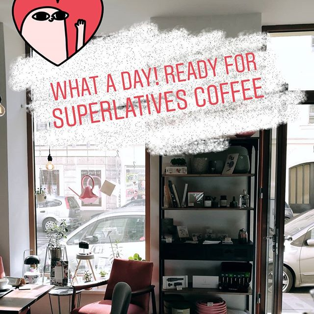 Superlatives is on! #coffee #superlatives #vienna