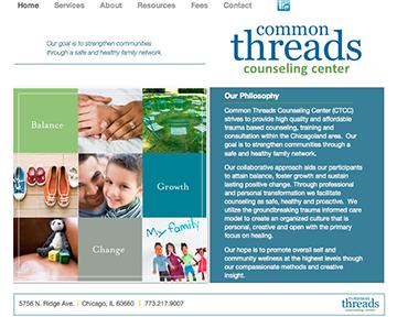 Common Threads | Website