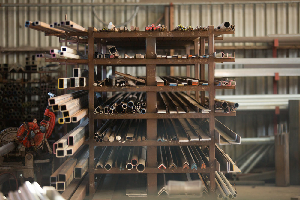 Stock Steel - For the DIY engineer and creator we supply raw steel materials. We have a variety of grades, sizes and lengths.