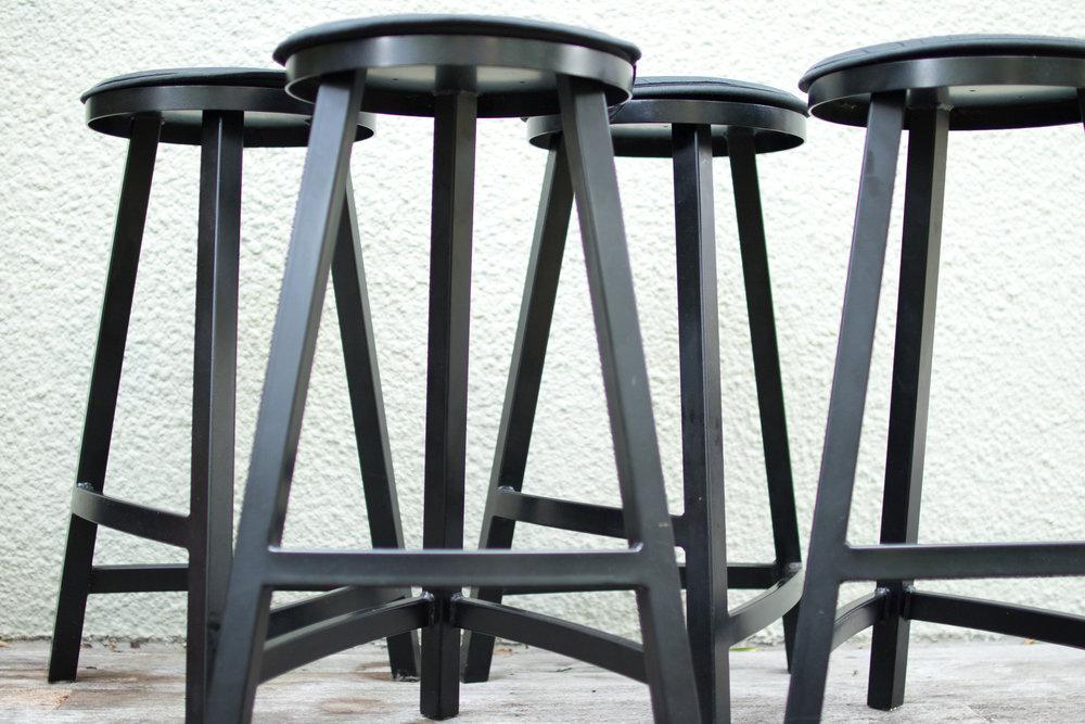 Stool Set - Breakfast bar stools.