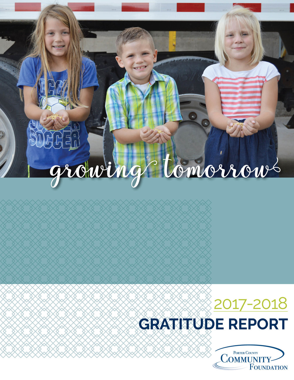 Porter County Community Foundation Gratitude Report 2018