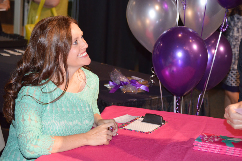 Stephanie Jones Signing
