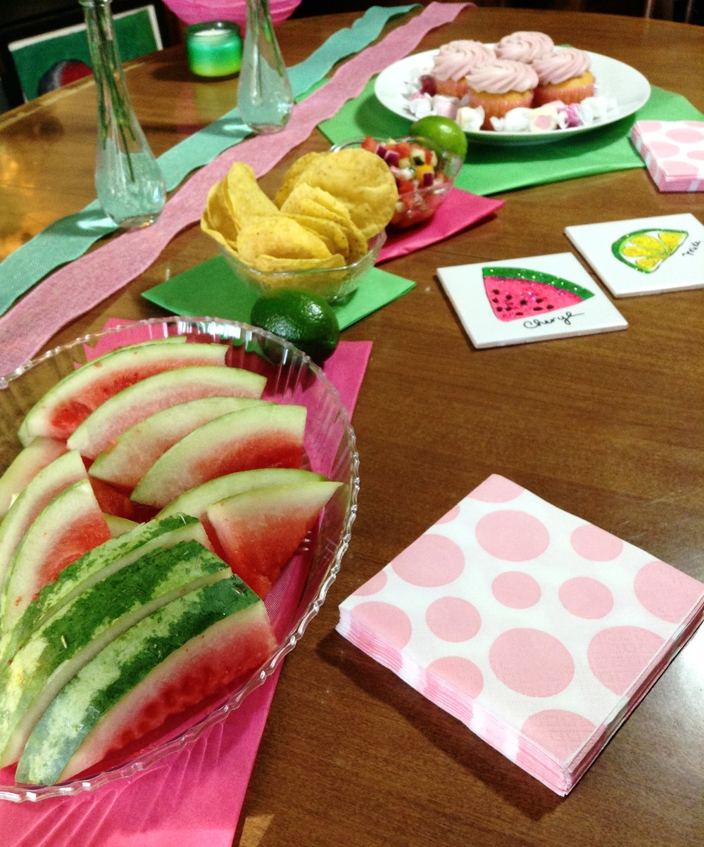 Watermelon & Lime Party
