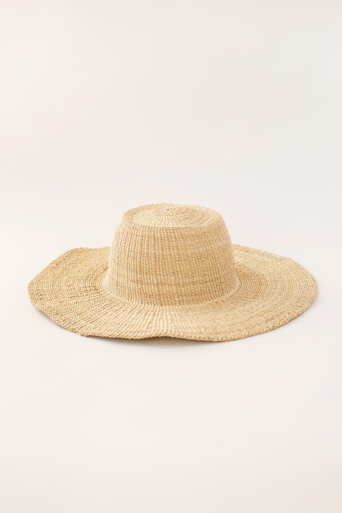 Wide Brimmed Bolga Hat