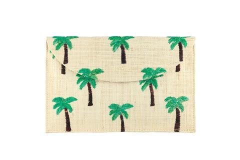 Kayu Woven Palm Pouch