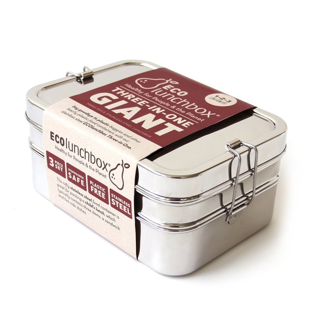 stainless steel 3-in-1 bento box