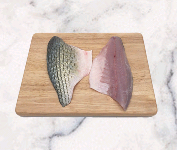 Stripped Bass   Origin: California (Farm-Raised)