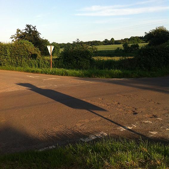 Stowell Farm crossroads.