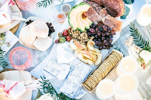 Pop Up Picnic Co. Charcuterie: 🧀 with Venissimo, you really CURDn't do any better. .  That's our mantra: great friends + great food + great atmosphere = ⭐️🌈⭐️