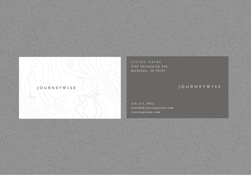 Journeywise Business Card Design