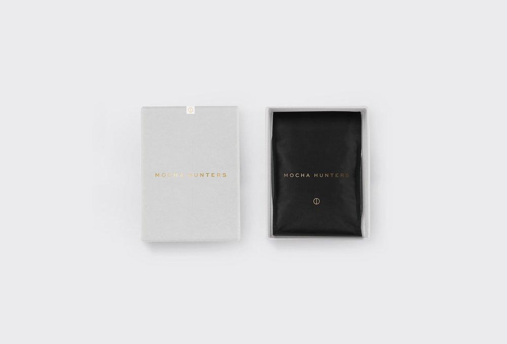 Mocha Hunters Coffee Packaging Designs