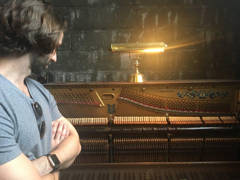 a piece of a piano? organ? who knows!