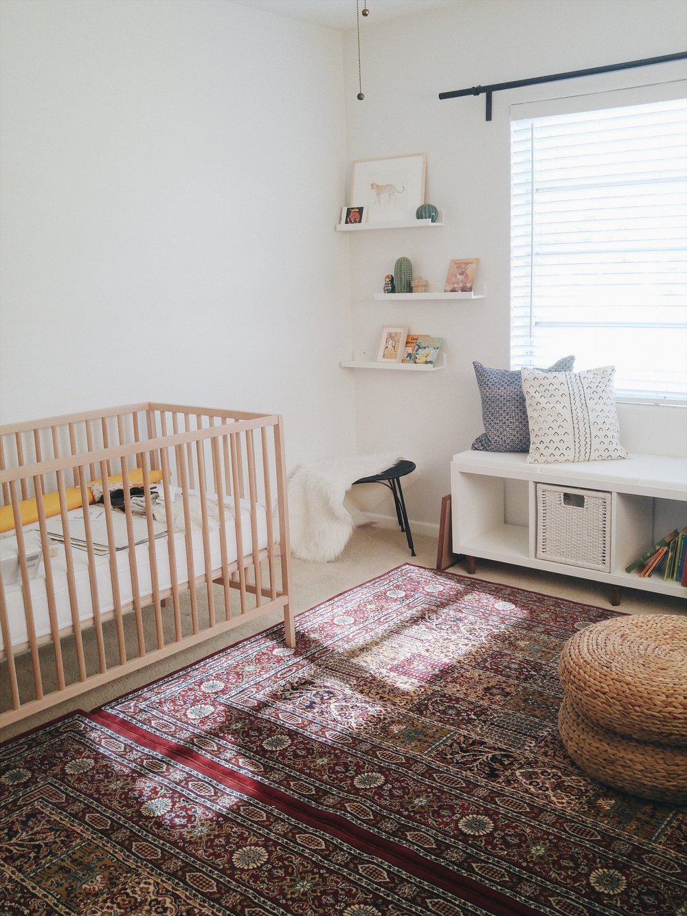 nursery ikea crib