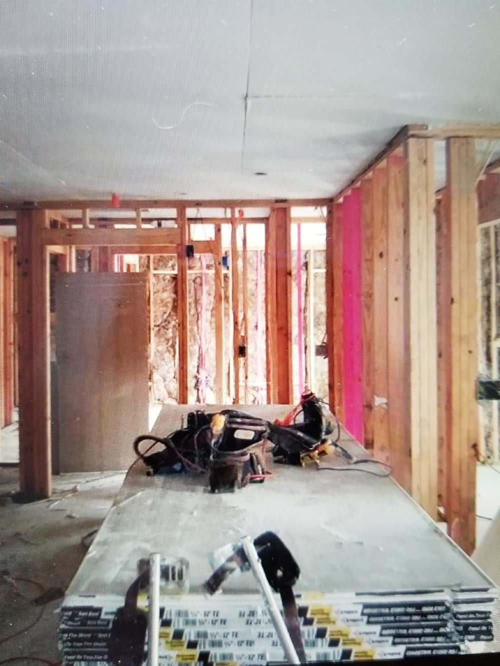 Basement Suite Drywall Langley