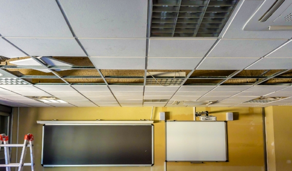 T-bar Ceiling Installation -