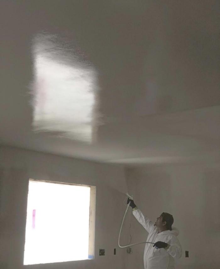 Custom Drywall does painting