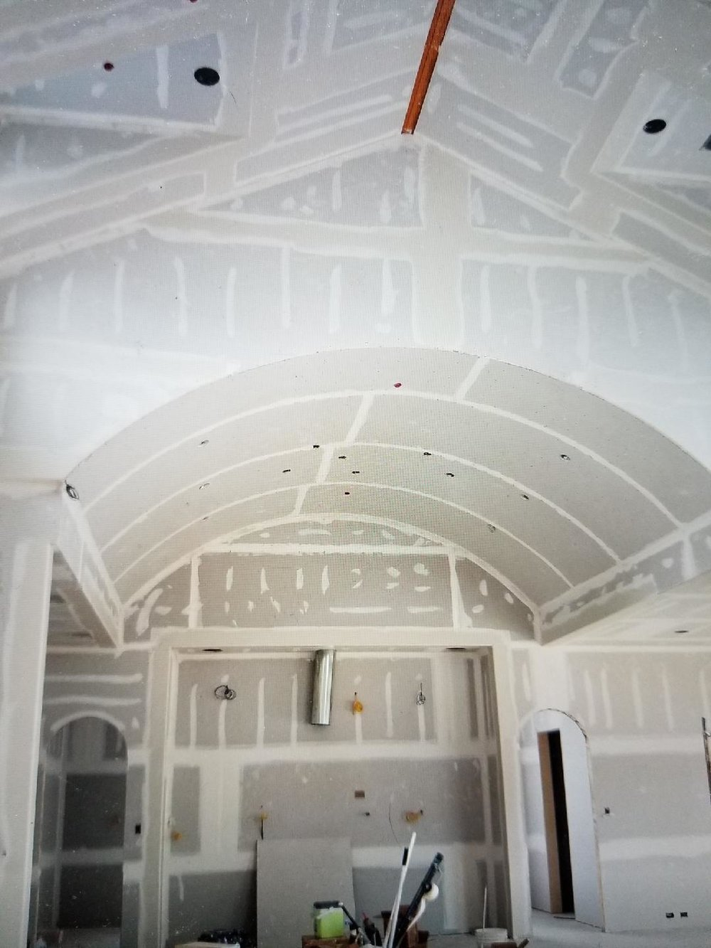 Drywall hanging and finishing - Custom Drywall