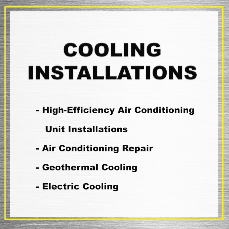 Cooling Installations