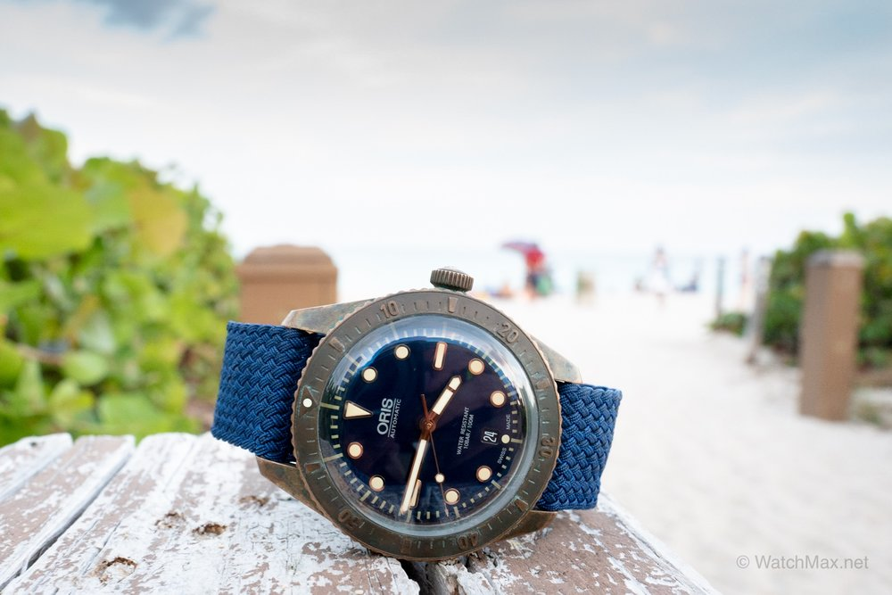 Oris Carl Brashear limited edition longitudinal review - What are my thoughts on owning and wearing (often) the original Oris bronzo? Find out and see tons of original photos — including developing patina for over a year. Read more