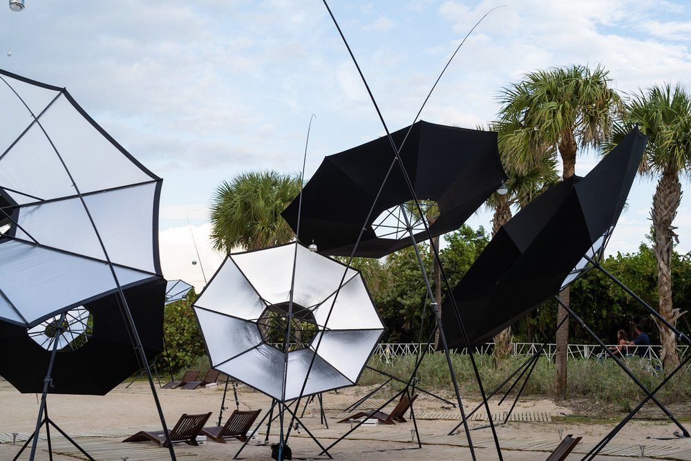 Audemars Piguet @ ArtBasel 2018 - Aerocene Albedo Project - At ArtBasel 2018 in Miami Beach, FL, Audemars Piguet sponsors the Aerocene Albedo art project which aims to find sustainable alternative lifestyles that make use of the power of the sun. Read more