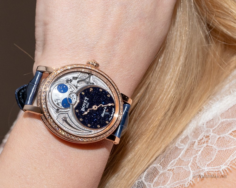 Bovet 1822 novelties first look @ SIHH 2019 - Bovet 1822 made its debut at the SIHH 2019 showing a collection of haute horlogerie timepieces that are as poetic and they are technical. Read more