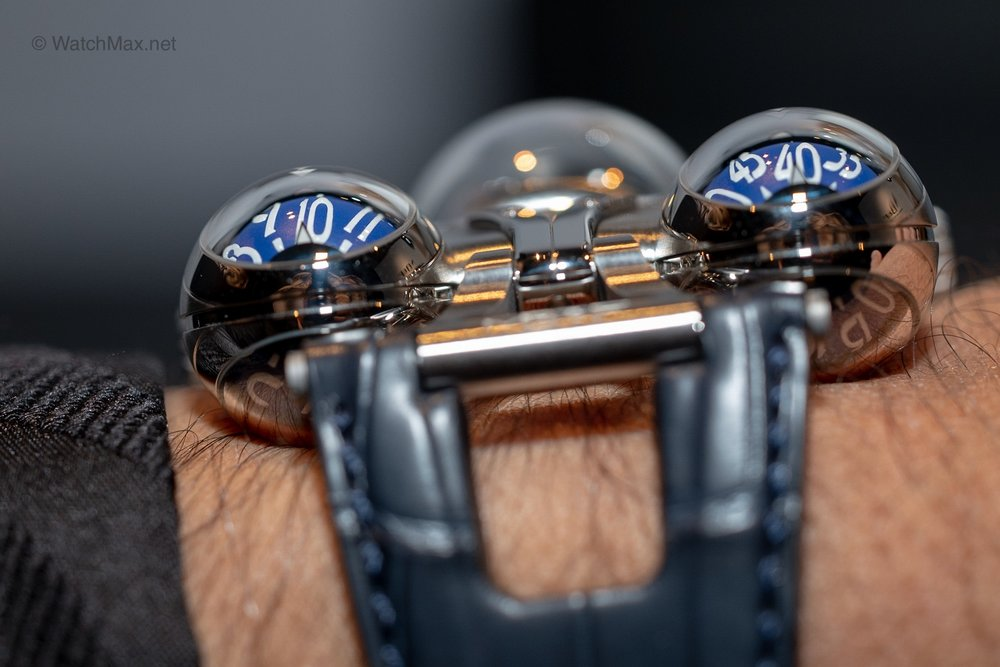 MB&F novelties @ SIHH 2019 - In Geneva in January Max Büsser shows me two novelties. One he designed and one he did not. In the tradition of MB&F, they are both insanely cool and out of this world. Read more