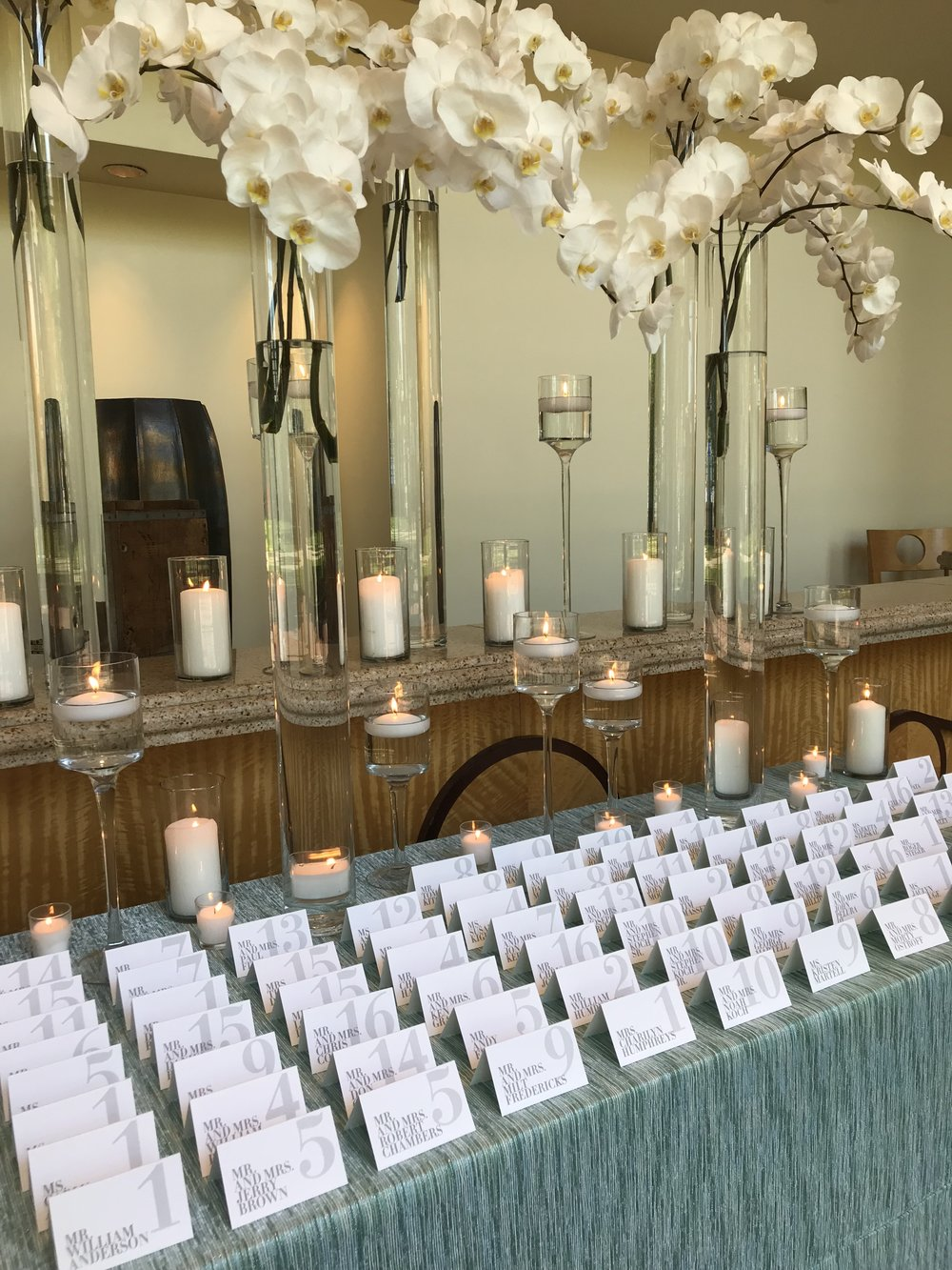 Guest Card Table