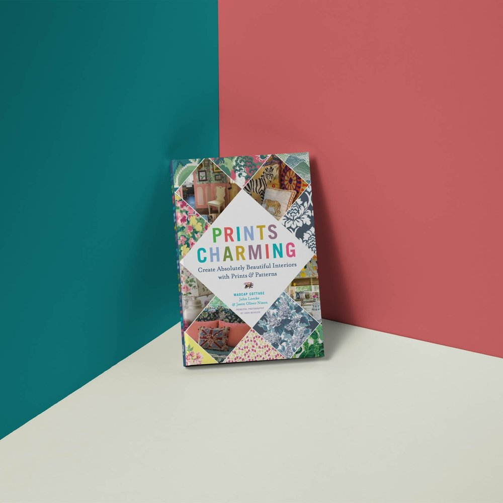 "Madcap Cottage Book - Embrace the witty charms of ""Prints Charming: Create Absolutely Beautiful Interiors with Prints & Patterns,"" our delicious how-to book from Abrams that will help take your home from nice to knockout. We get it, and we show you how to get it, too! A must-have design primer packed with beautiful images and smart, informative text."