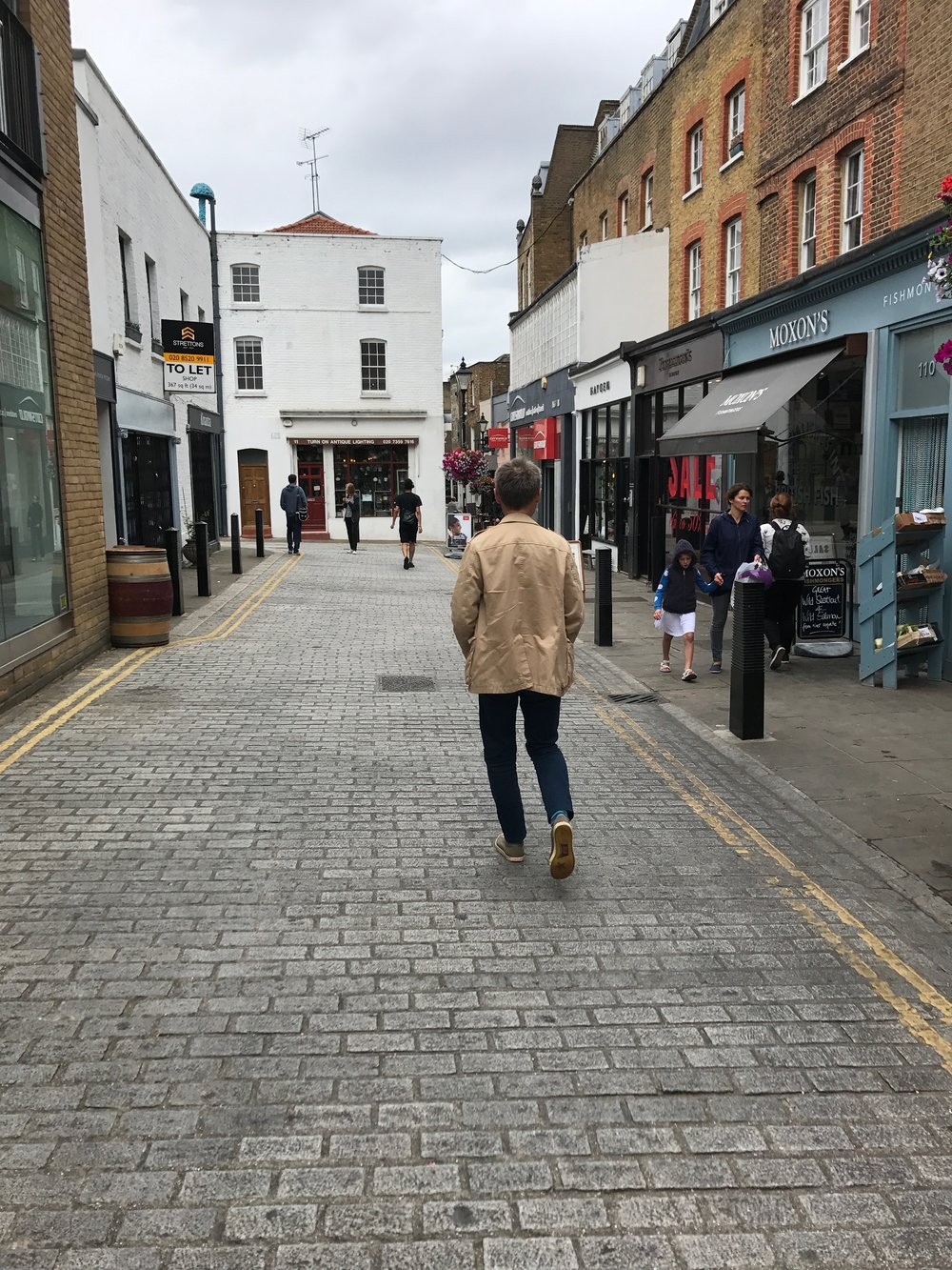 John explores Islington, an up-and-coming London neighborhood that has really transformed since we first visited.