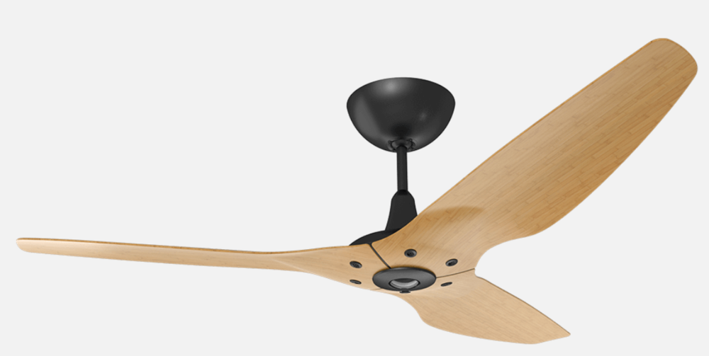 Spin, Spin Sugar - We have always had a love-hate relationship with ceiling fans - that is, until we met the saucily named Haiku by Big Ass Fans brand with its clean lines and chic silhouettes. A favorite in the line is the 60-inch Haiku with its caramel-hued bamboo airfoils ($1,095). This stunner would work as well in a hard-edged Winston-Salem industrial loft as it would in a trad-leaning Irving Park family room.