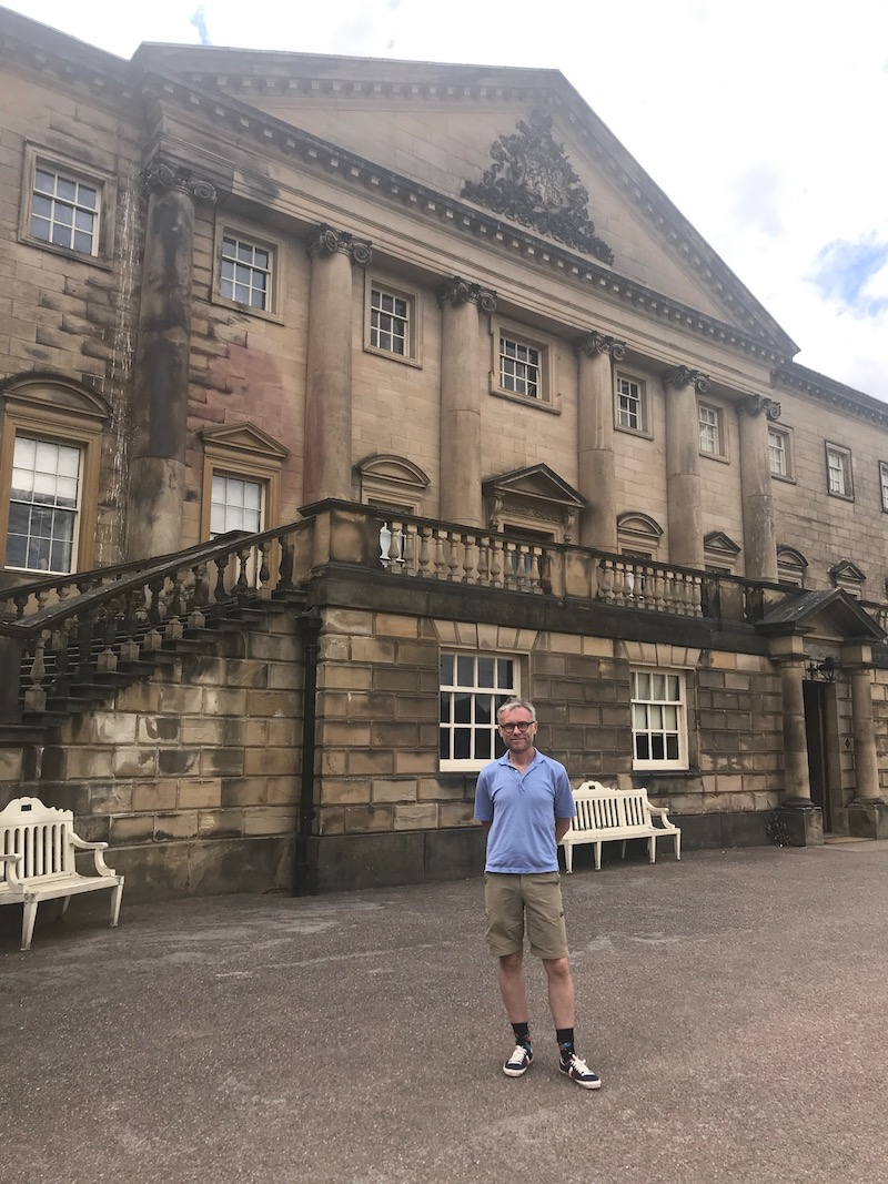 Exterior of Nostell Priory